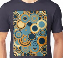 Circledelic - blue/orange Unisex T-Shirt