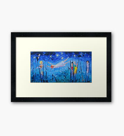 Maggies Starry Starry Night Framed Print