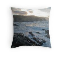 stormysea Throw Pillow