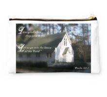 Psalm 122:1 Studio Pouch