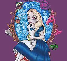 Wonderlands Spell by biohallyart