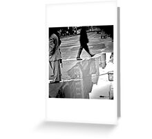 retaking the streets Greeting Card