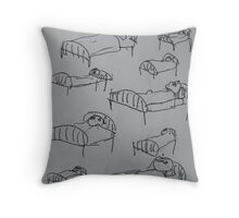 For All The Unknown Soldiers Throw Pillow