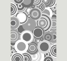 Circledelic - grayscale Unisex T-Shirt