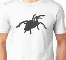 Black tarantula spider Unisex T-Shirt