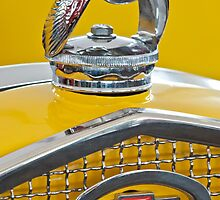 "1931 Ford ""Quail"" Hood Ornament 2 by Jill Reger"