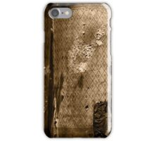 vintage paper iPhone Case/Skin