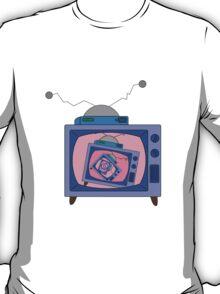 crazy tv simpsons T-Shirt
