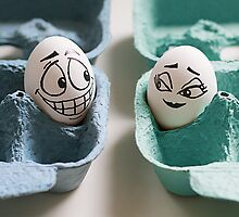 An Eggbert love affair... by Vanessa Dualib