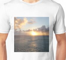 Aruba: Scenic Sunset over the Sea Unisex T-Shirt