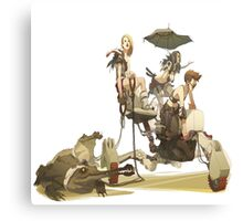 Pirate Girls- Mad Max World Canvas Print
