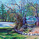 &#x27;Welcome to Blowing Rock&#x27; - Paintings of NC&#x27;s Mountain Jewel by Jerry Lee Kirk by Jerry Kirk