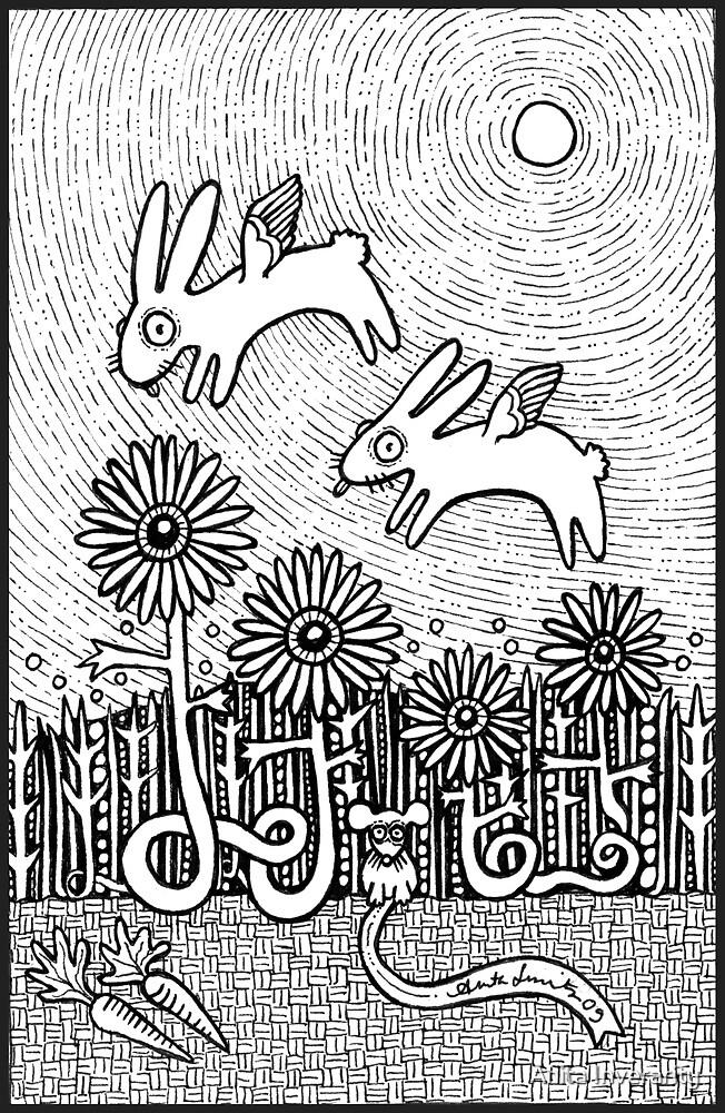 Bunny Dreams by Anita Inverarity