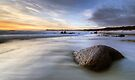 Dawn on the East Coast of Tasmania by Michael Treloar