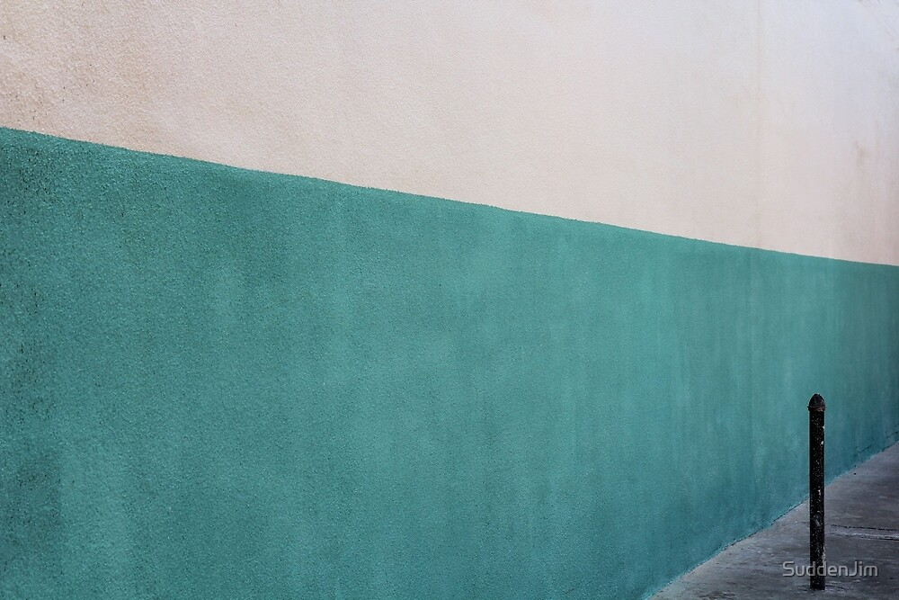 Wall With Post by SuddenJim