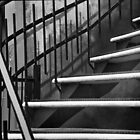 Montreal Stairs (B+W) by azurechina