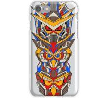 Mecha Totem Pole iPhone Case/Skin