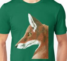 Mr Fox Portrait Unisex T-Shirt