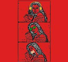 Lauren-(no evil) Womens Fitted T-Shirt