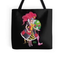 Pin-up Queen Of Hearts Tote Bag