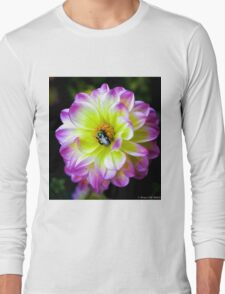 Flower & Bee Long Sleeve T-Shirt