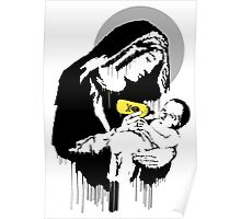 Banksy - Virgin Mary (Toxic Mary) Poster
