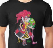 Pin-up Queen Of Hearts Unisex T-Shirt