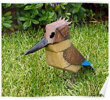 Garden ornament, Kookaburra, Australia. Poster