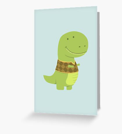 T-VEST Greeting Card