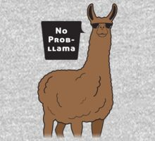 No Prob-llama One Piece - Long Sleeve