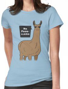 No Prob-llama Womens Fitted T-Shirt