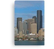 Seattle-Capital of Washington State, U.S.A. Canvas Print