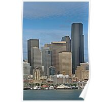 Seattle-Capital of Washington State, U.S.A. Poster
