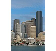 Seattle-Capital of Washington State, U.S.A. Photographic Print