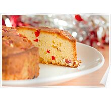 Christmas Fruit Cake Poster