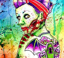 Zombie Doll 4 by MissCarissaRose