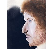 Freewheelin Bob Dylan Profiled Photographic Print