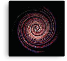 Spikey Swirl Canvas Print
