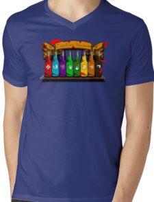 Zombies beware Mens V-Neck T-Shirt