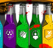 Zombies beware Sticker