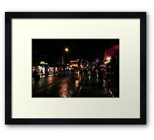 Night in Camden Town Framed Print