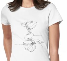 Lonely Mermaid - Scribbler t-shirt Womens Fitted T-Shirt