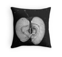 Une pomme Throw Pillow