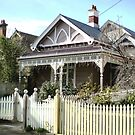 Early Victorian cottage - Williamstown. by EdsMum