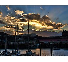 Scarborough Harbour. Photographic Print