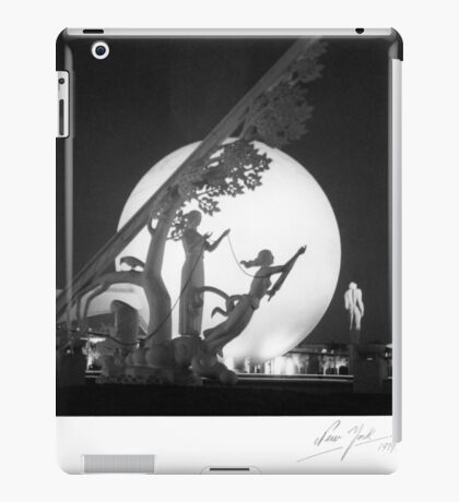 NY World's Fair 1939 iPad Case/Skin