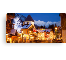 Vail Village, Christmas 2010-2011 Canvas Print