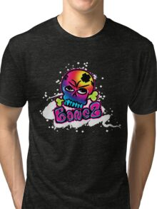 Bonez (black) Tri-blend T-Shirt