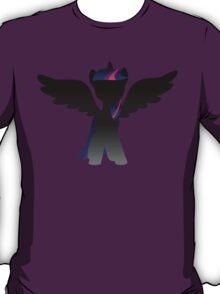 Monochrome Alicorn Twilight T-Shirt