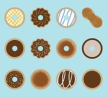 Donuts by Dorothy Timmer